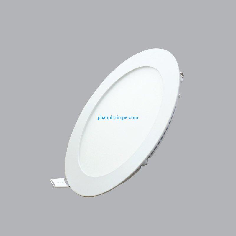 Đèn led panel tròn âm trần 6W màu vàng loại nhỏ lỗ khoét 90mm RPL-6SV