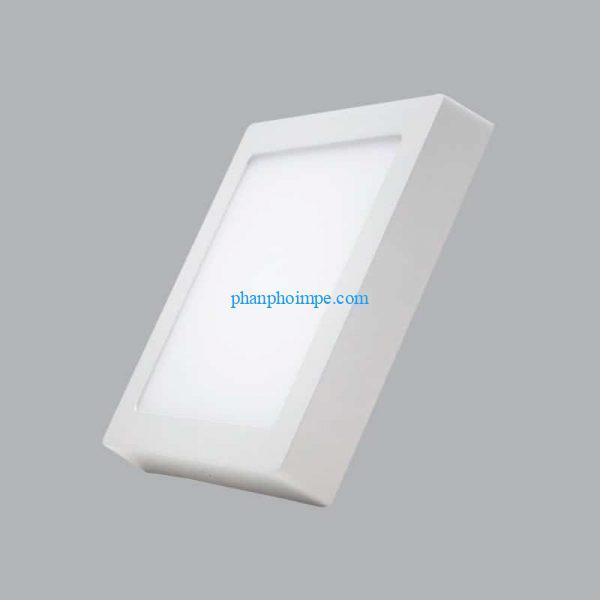 Đèn led panel vuông nổi 18W dimmer màu trắng SSPL-18T/DIM 2