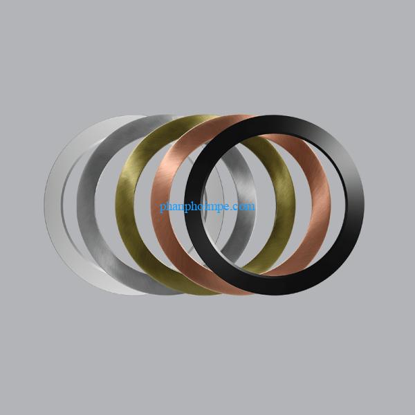 Viền đèn led multi panel 12W (màu bạc, đỏ sẫm, vàng đồng, nicken, đen) BD-12 3
