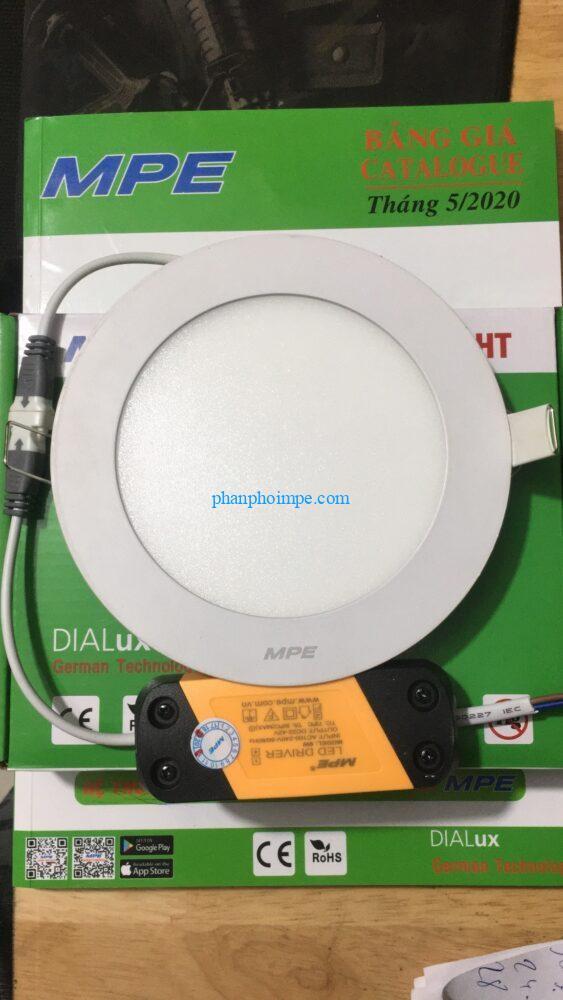 Đèn led panel tròn âm trần 9W 3 chế độ RPL-9/3C